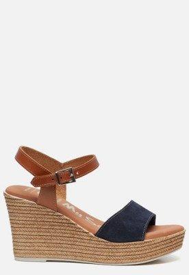 OH MY SANDALS OH MY SANDALS Sandalen met sleehak blauw
