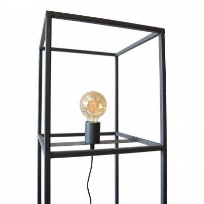 Urban Interiors Urban Interiors vloerlamp 'Frame' 120cm, kleur Zwart