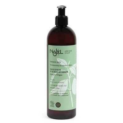 Najel Biologische Aleppo 2-in-1 Shampoo Droog haar (sulfaatvrij) - 500 ml Najel