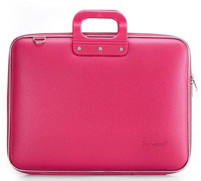 Bombata Bombata Maxi Hardcase Laptoptas 17 inch Dark Pink
