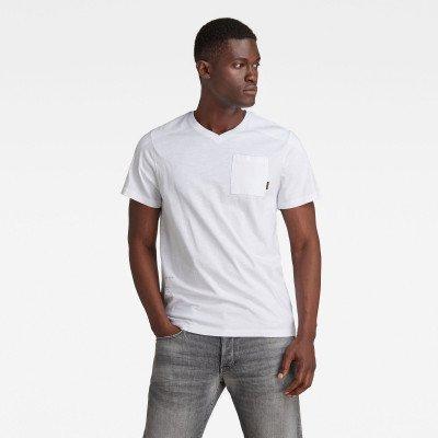 G-Star RAW Cargo Sport T-Shirt - Wit - Heren