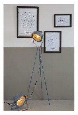 WOOOD Exclusive WOOOD Tafellamp 'Lester' kleur Betongrijs