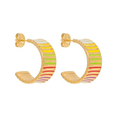 Nola Amsterdam RAINBOW.earrings