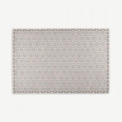 MADE.COM Trio vloerkleed, 200 x 300 cm, grijze wol