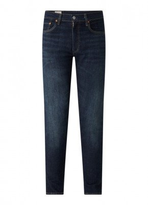 Levi's Levi's 512 slim fit jeans met donkere wassing
