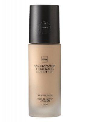 HEMA HEMA Skin Protecting Illuminating Foundation Neutral 02 (zand)