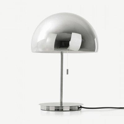 MADE.COM Collet tafellamp, chroom
