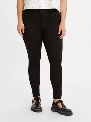 Levi's 720™ High Rise Superskinny Jeans - Zwart / Black Celestial