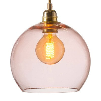 Ebb en Flow EBB & FLOW Rowan hanglamp rosé-goud Ø 22cm