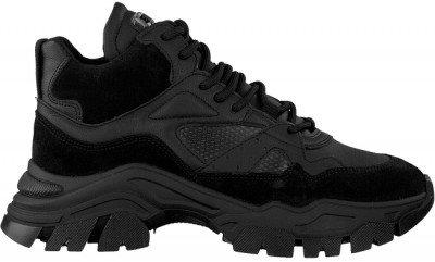 Bronx Zwarte Bronx Hoge Sneaker Tayke-over 47309