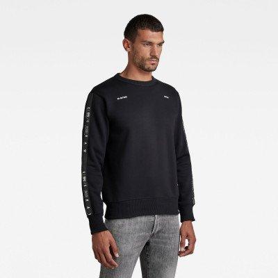 G-Star RAW Sport Stripe Sweater - Zwart - Heren