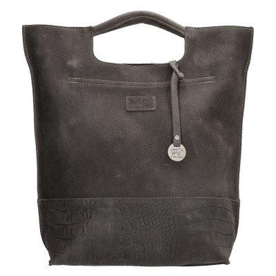 SoDutch SoDutch Bags Handtas #08 Donker Grijs