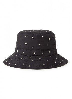 Ganni Bucket hoed met studs