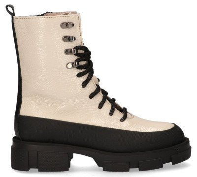 Alpe Alpe 4125 Off-White Dames Veterboots