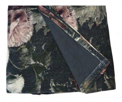PTMD PTMD Plaid 'Vajen', Velvet, 170 x 130cm, kleur Zwart