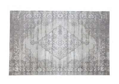 Brix Brix Vloerkleed 'Kelly' 170x240 cm, kleur Charcoal Grey