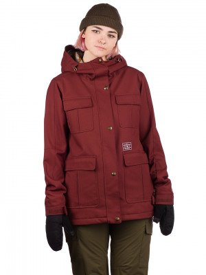 DC DC Liberate Jacket rood