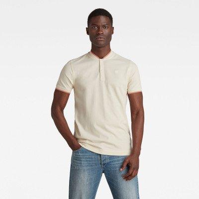 G-Star RAW Sport Collar Slim Polo - Beige - Heren