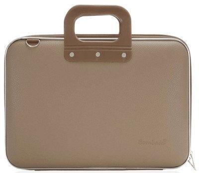 Bombata Bombata Maxi Hardcase Laptoptas 17 inch Taupe