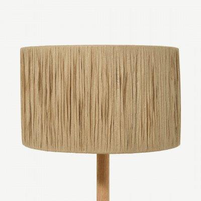 MADE.COM Cruz lampenkap, 30 cm, raffia