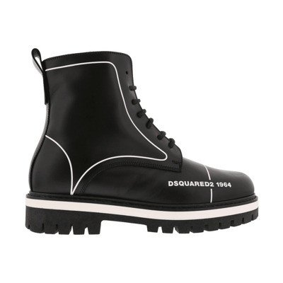 Dsquared2 Ankle Boot Lace Up
