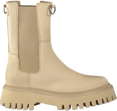 Beige Bronx Chelsea Boots Groov-y 47268