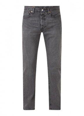 Levi's Levi's 501 straight fit jeans met gekleurde wassing