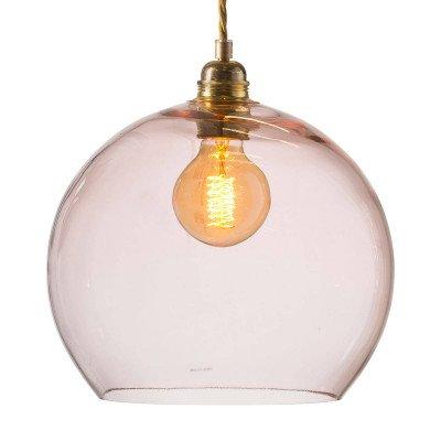 Ebb en Flow EBB & FLOW Rowan hanglamp rosé-goud Ø 28cm