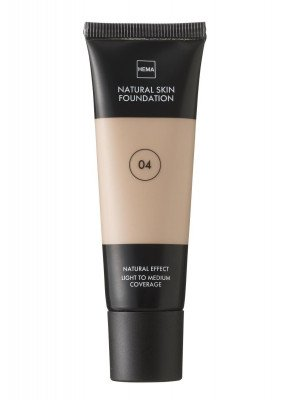 HEMA Natural Skin Foundation Beige 04 (bruin)