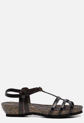 Panama Jack Panama Jack Dori Clay B3 sandalen zwart