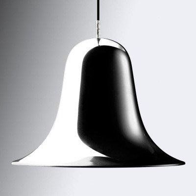 Verpan VERPAN Pantop hanglamp, Ø 30 cm, chroom glanzend