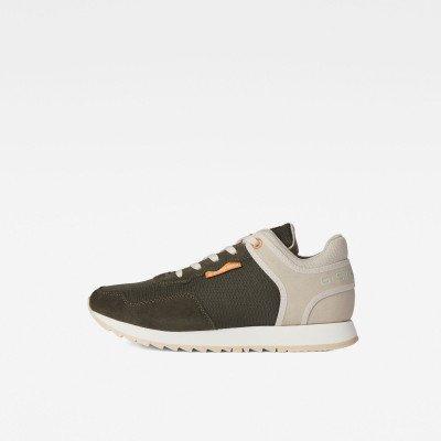 G-Star RAW Calow Basic Q2 Sneakers - Groen - Dames