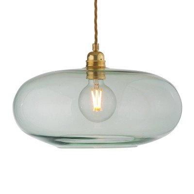 Ebb en Flow EBB & FLOW Horizon glas-hanglamp groen Ø 36 cm