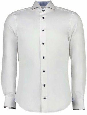 Cavallaro Napoli Cavallaro Napoli Heren Overhemd - Fiero Overhemd - Wit
