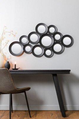 Light & Living Light & Living Spiegel 'Ispilu', mat zwart