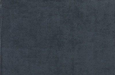 WOOOD WOOOD Hocker 'Micha' Ribstof, kleur Staalblauw