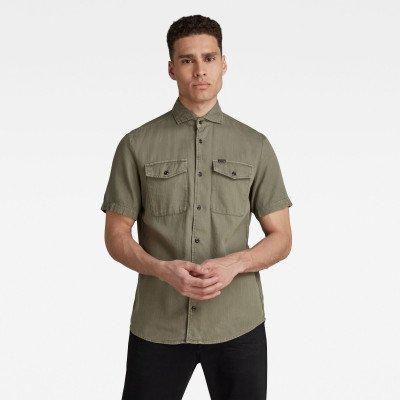 G-Star RAW Marine Service Slim Shirt - Groen - Heren