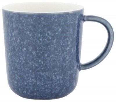 HEMA Koffiemok Chicago 130 Ml - Reactief Glazuur - Blauw (Blue)