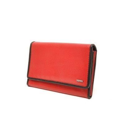 Berba Berba Dames Portemonnee Soft 001-303 Red Black