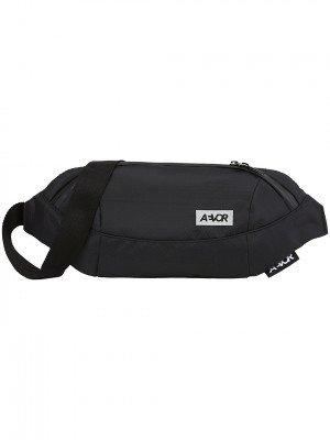 Aevor AEVOR Shoulder Bag Proof Black Hip Bag zwart