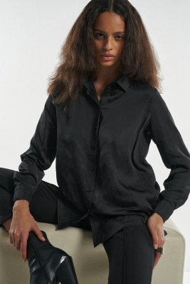 nu-in 100% Recycled Boxy Blouse