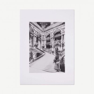 MADE.COM David & David Studio, Paris - Escalier De L'Opera, print, door Archive Paris Musee, 50 x 70 cm