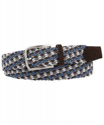Profuomo Profuomo heren blauw elastische riem