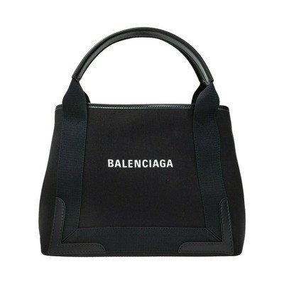 Balenciaga Navy Cabas shoulder bag