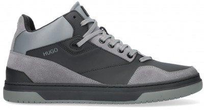 HUGO Zwarte Hugo Hoge Sneaker Switon Hito Rbsd