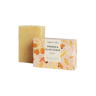 HelemaalShea HelemaalShea Orange Olive Scrubzeep