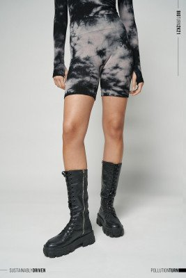 NU-IN Limited Edition High Waist Cycling Shorts / XS / Black