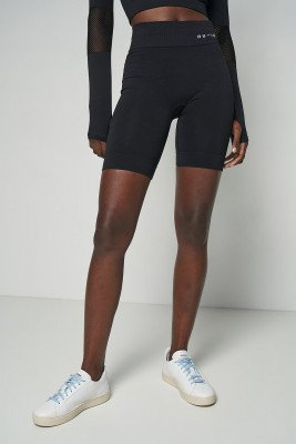 nu-in Mid Rise Cycling Shorts / XS / Black