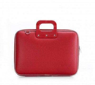 Bombata Bombata Classic Hardcase Laptoptas 15 inch Red