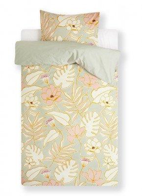 Covers en Co Covers & Co Flower Rangers dekbedovertrekset van biologisch katoen perkal - inclusief kussenslopen